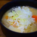 三福 - 味噌煮込み@480円+税