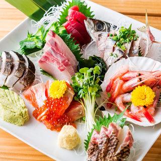 北海道漁港直送!新鮮海の幸の逸品
