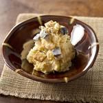 四十八漁場 - サバの燻製ポテトサラダ