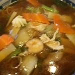 75315323 - 今回はサッパリ作るコックさんの広東麺だった
