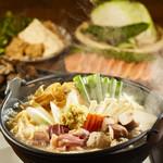 鹿児島県霧島市 塚田農場 - 【定番】地鶏の生姜味噌ちゃんこ鍋コース