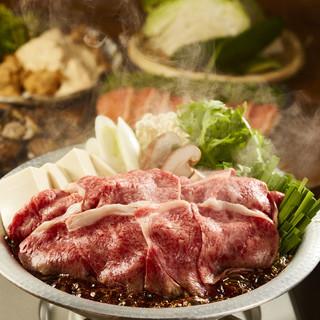 ★忘年会推奨★和牛すき焼きコースが1000円割引!