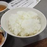 前島食堂 - ご飯 中