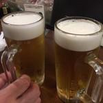 立ち飲み処 おおの屋 - ビール
