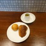 75319518 - ランチにつくおかわり自由のパン