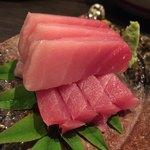 銘酒 魚の家 - マグロ刺身