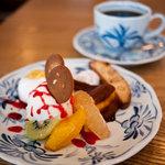 カフェトゥー 木造香舎 - 料理写真:木造香舎 デザート