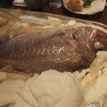 旬彩 本多 - 鯛の塩釜焼き