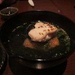 旬彩 本多 - 鯛の白子と焼きおにぎりのお茶漬け