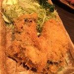 銘酒 魚の家 - 鯵フライ