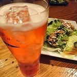 75321915 - カンパリソーダはビールグラス