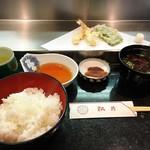 松月 - 天麩羅定食  850円