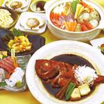 魚七鮮魚店 - 名物釣り地金目鯛コース【飲み放題60種類付】4名様~