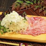 寿司ろばた 八條 - 北海道ポテトサラダ