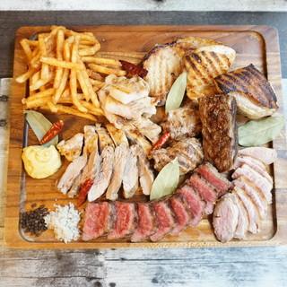肉を食べ比べる!