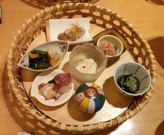 菜な コレド室町店 - 籠盛りコース 籠盛り(7品)