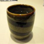 喫茶室ルノアール - サービスの日本茶