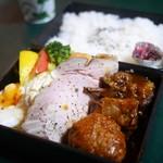 芳味亭 - (上)洋食弁当 ライス・スープ付き