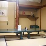 芳味亭 - 2階座敷席