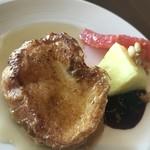 パーゴラ - 朝食ブッフェのフレンチトースト