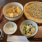 75332583 - 親子丼と蕎麦のセット