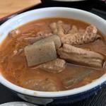 75335078 - 永井食堂(群馬県渋川市上白井) もつ煮定食