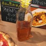 石窯ピザのイタリアンバル Pizza Cozou - 【'17.10】オリジナルの唐辛子オイル