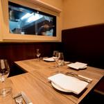 LE SEVERO - 個室 シェフズテーブルとしてご利用できます。