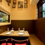 LE SEVERO - 個室 対面テーブル