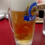 雲呑房 - 生ビール