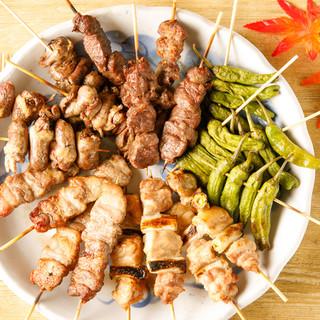 【希少】朝びき国産鶏を使用した鶏料理♪