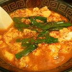 まないた家 - 辛麺(中華麺の8辛)