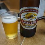焼肉 味道 - 瓶ビール♪