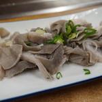 焼肉 味道 - 生センマイ