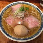 しば田 - 「煮干しそば」780円+味玉