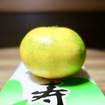 宝来寿司 - [2017/10]サービスしてくれたみかん