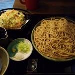75347365 - 野菜かき揚げそば(770円