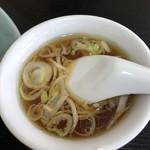 盧山 - チャーハン付属スープ