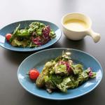 パイ ホリック - ランチのサラダとスープ