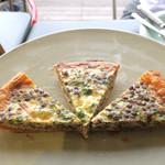 パイ ホリック - ケールとレンズ豆