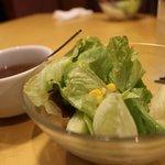 ステーキハウス松木 - ランチサラダ