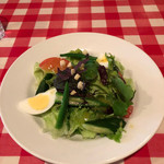 トレンタ - Hランチの大きなサラダ