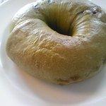 レストラン アジュール - 抹茶キャラメルのベーグル