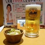 おおくら屋 - ビール&お通し