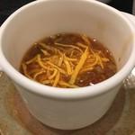 75352714 - 牛肉とトマトのスープ