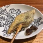 串揚げ なかや - 秋刀魚と肝