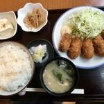 ごはん処 のぐっち - カキフライ定食900円