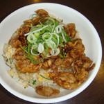 麺麺 - 当店名物焼肉チャーハン730円税別