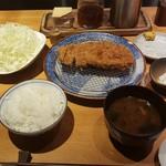 豚組食堂 - ロースカツ定食