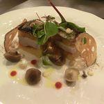 75355420 - 秋刀魚のコンフィと里芋のミルフィーユ仕立て 2017.10.07